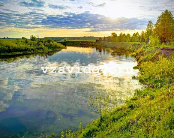Уникальный видовой участок у реки! Цена 6.250.000